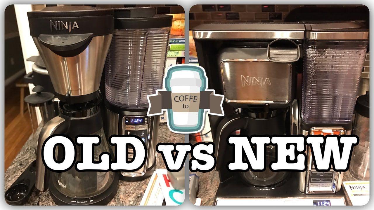 New ninja vs old ninja ninja coffee bar ninja coffee