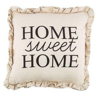 Home Sweet Home Burlap Pillow Shop Hobby Lobby Burlap Pillows Sweet Home Pillows