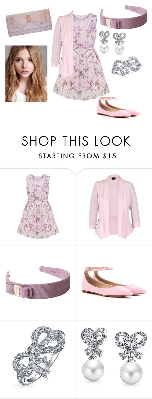 """Elizabeth Outfit 2"" by paisley099 ❤ liked on Polyvore featuring City Chic, Salvatore Ferragamo, Chloé, Gianvito Rossi, Bling Jewelry, Sasha and disneydescendants"