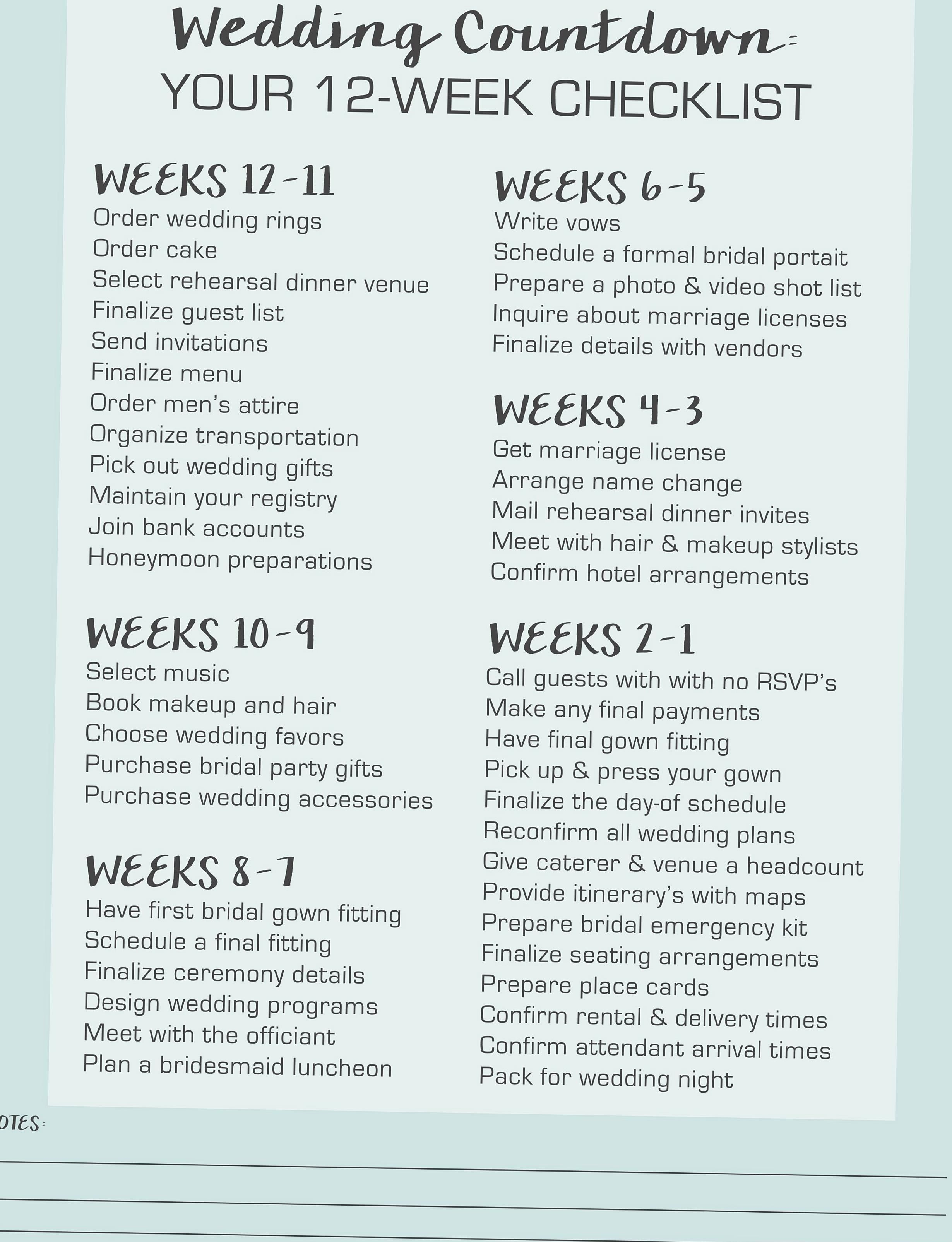 With Your Wedding Fast Approaching We Want To Help Ease You In The Process Of Planning Your Own Wedd Event Planning Checklist Planning Checklist Event Planning
