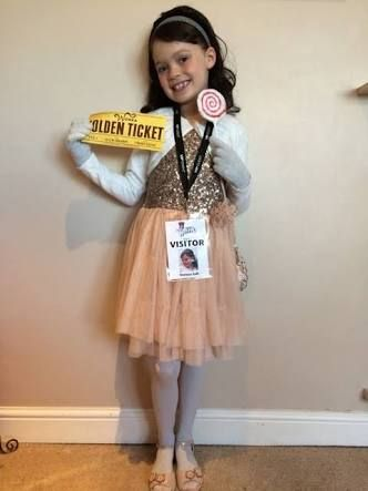Girl book day costume ideas