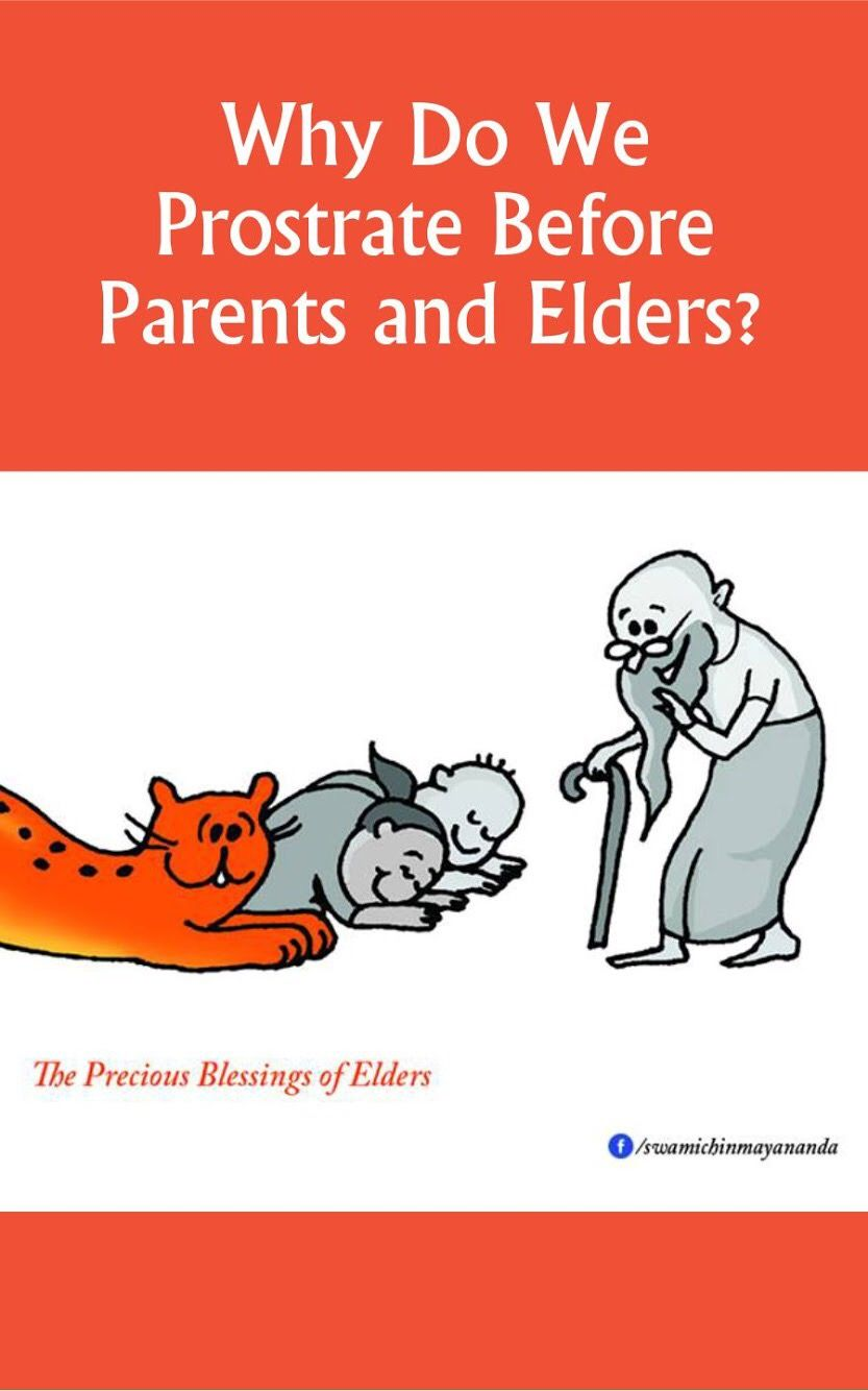 why do we prostrate before parents and elders? | blogs | blog