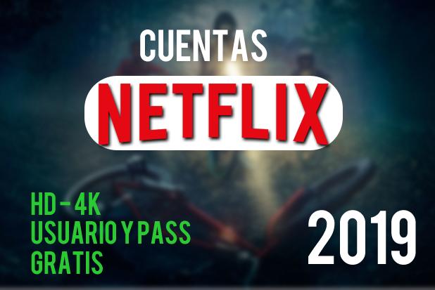Cuentas De Netflix Gratis 2019 Con Usuario Y Contraseña Premium Trucos Netflix Netflix Mejores Peliculas De Netflix