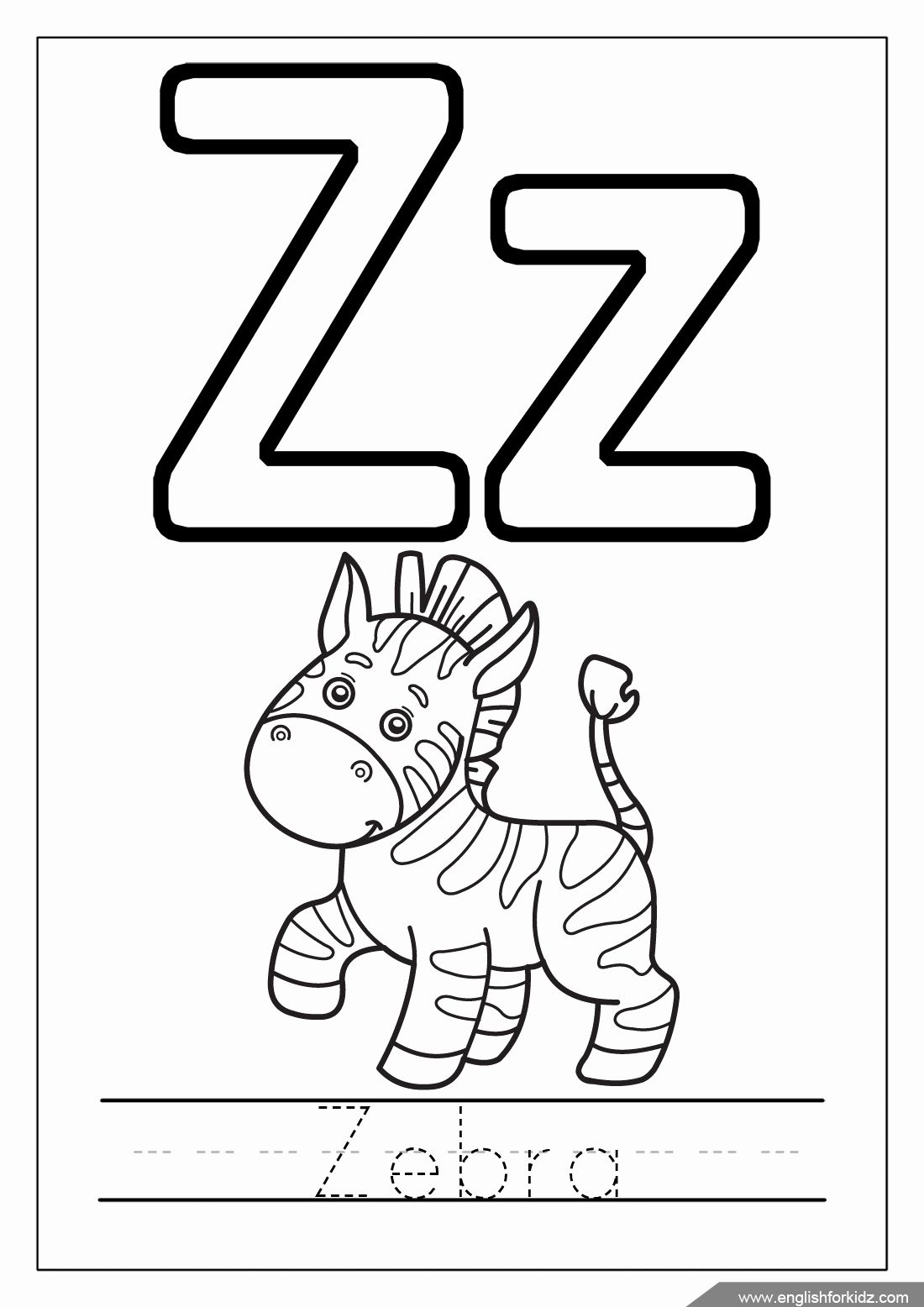 Coloring Pages Alphabet Letters In With Images