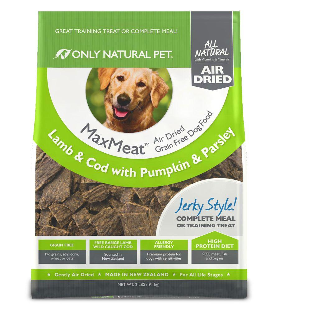 Only Natural Pet Maxmeat Dog Food Grain Free Air Dried Lamb