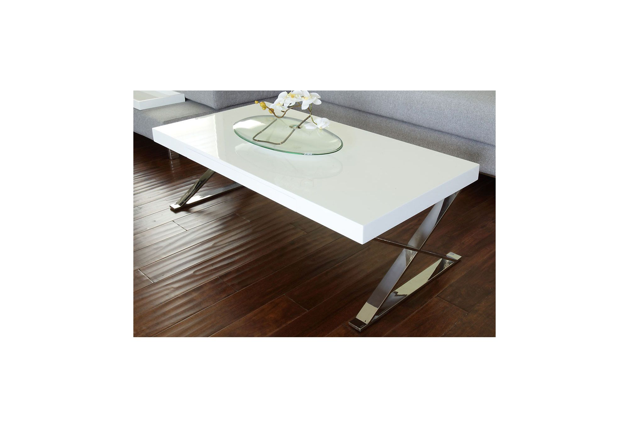 One Kings Lane - Mix in Some Modern - Carlson Coffee Table, White