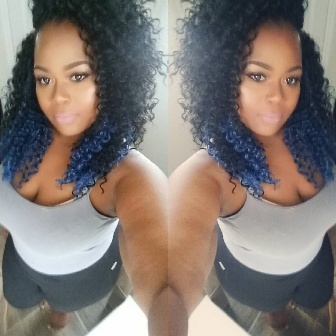 """""""Very low key but when I want you to know you'll know!  #crochetbraids#crochetstyle #lowmaintenancestyle #curlygang #bohemiancurl #modelmodel…"""""""