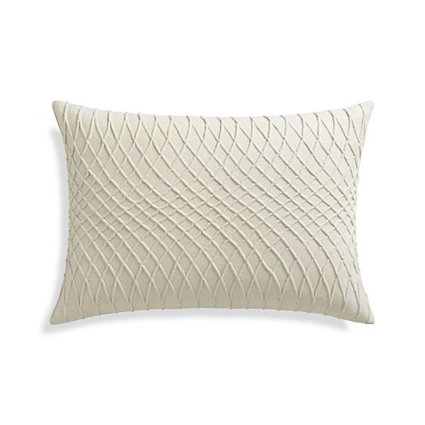 Avery 40x40 Pillow Crate And Barrel Pillows Pinterest Amazing Crate And Barrel Decorative Pillows