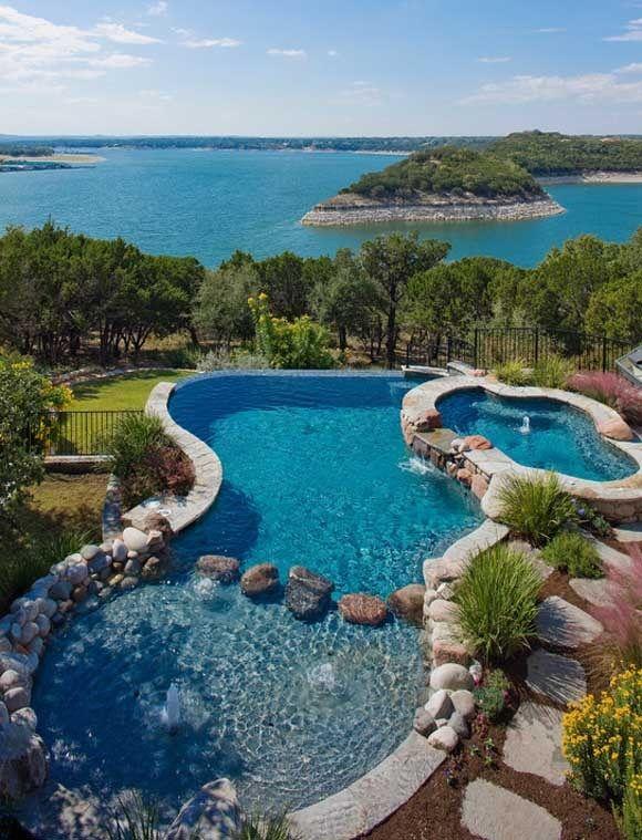 glass edge pool Glass pool, Indoor outdoor pool, Luxury