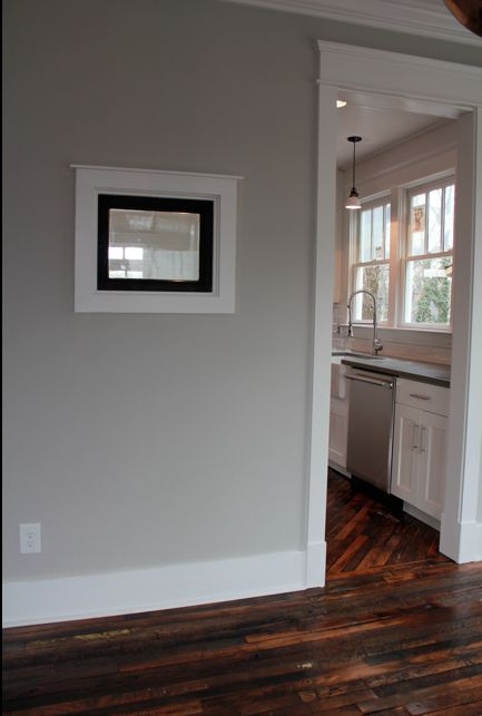 Pictures Of Light Grey Living Rooms Room Window Coverings Ideas Wall Color. Repose Gray. Open Kitchen To Dining ...