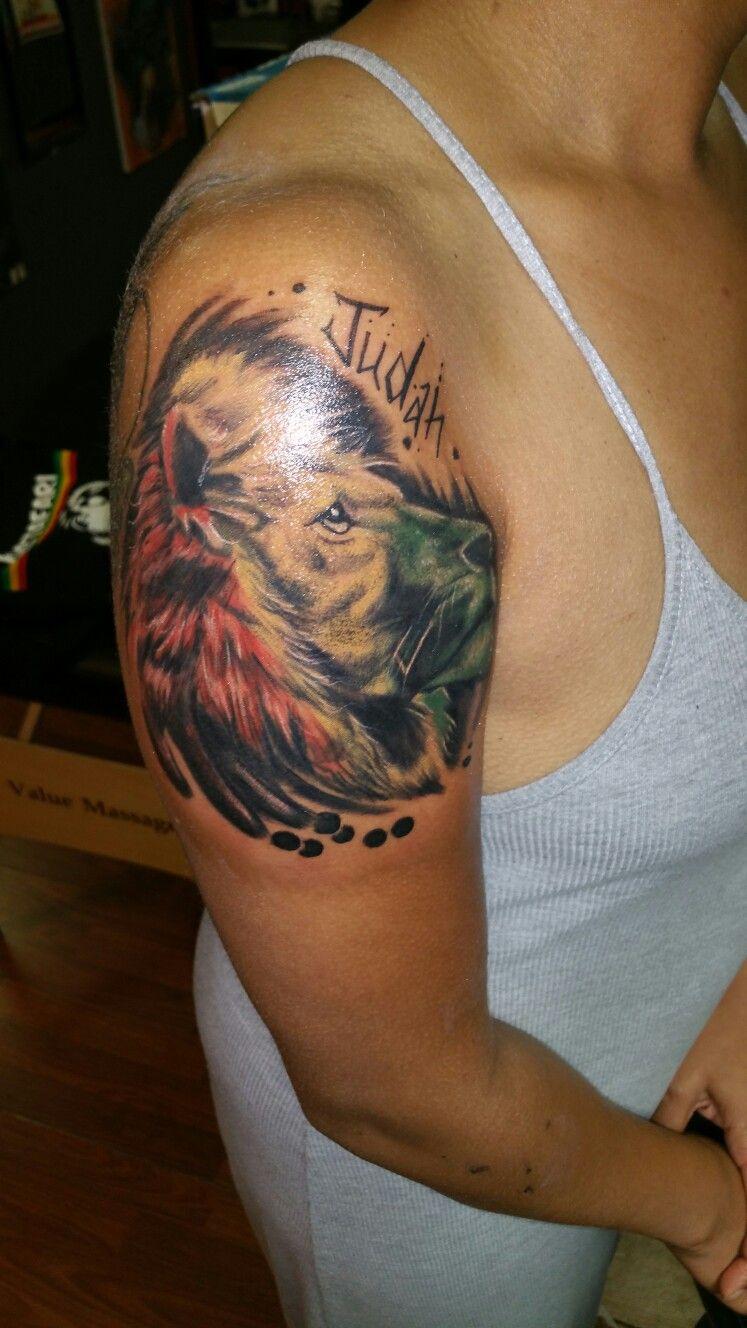 My Lion Of Judah Tattoo Tattoos Face Tattoos Piercing Tattoo