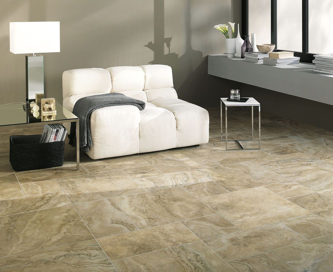 Artwork of Porcelain Tile that Looks Like Marble for