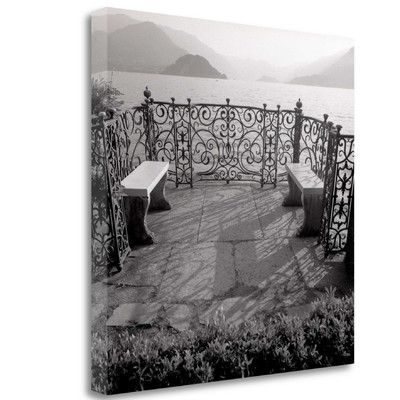 Tangletown Fine Art 'Lake Vista - 2' by Alan Blaustein Graphic Art on Wrapped Canvas