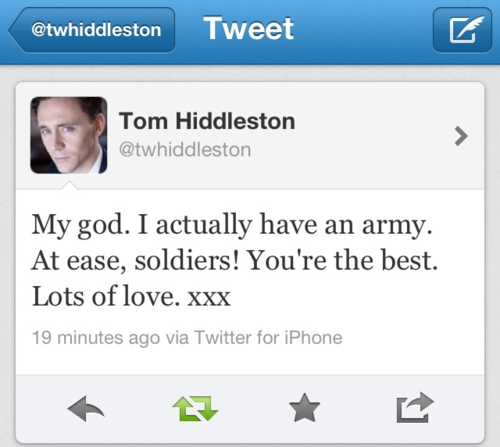 I'm proud to be in the army! :)