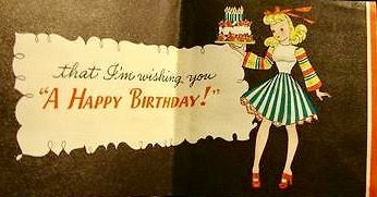 Pin by Daniele on Teens Girls Vintage Birthday cards Pinterest