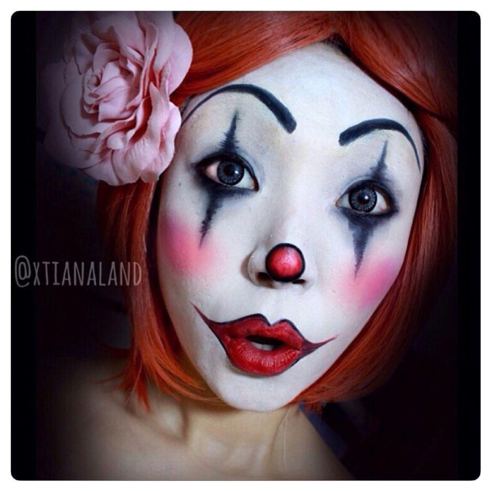 Cool Creepy Clown Face Paint Clown Face Paint Clown Faces Clown Makeup