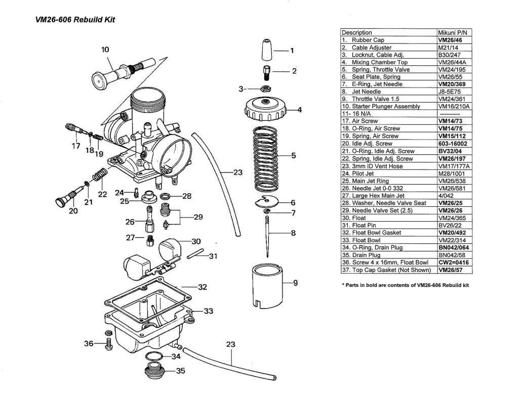15 Mikuni Motorcycle Carburetor Diagram