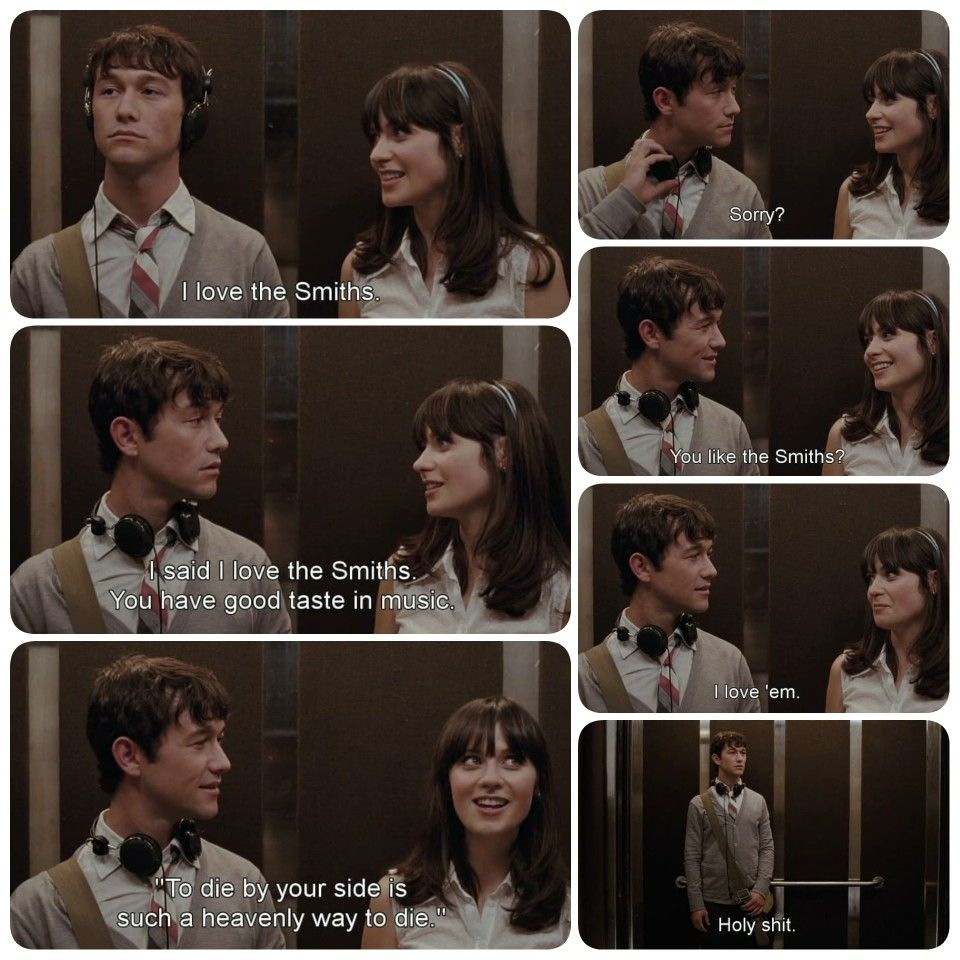 500 Days Of Summer The Smiths 500 Days Of Summer Movies Will Smith