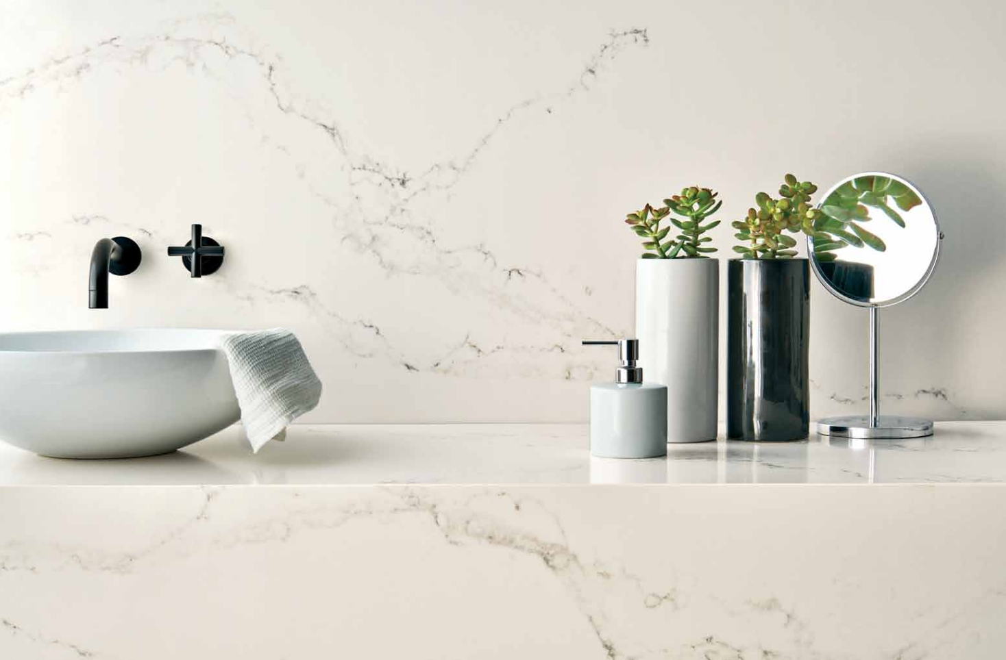 Live Edge Bathroom Counter eclectic bathroom. Pinned from ...