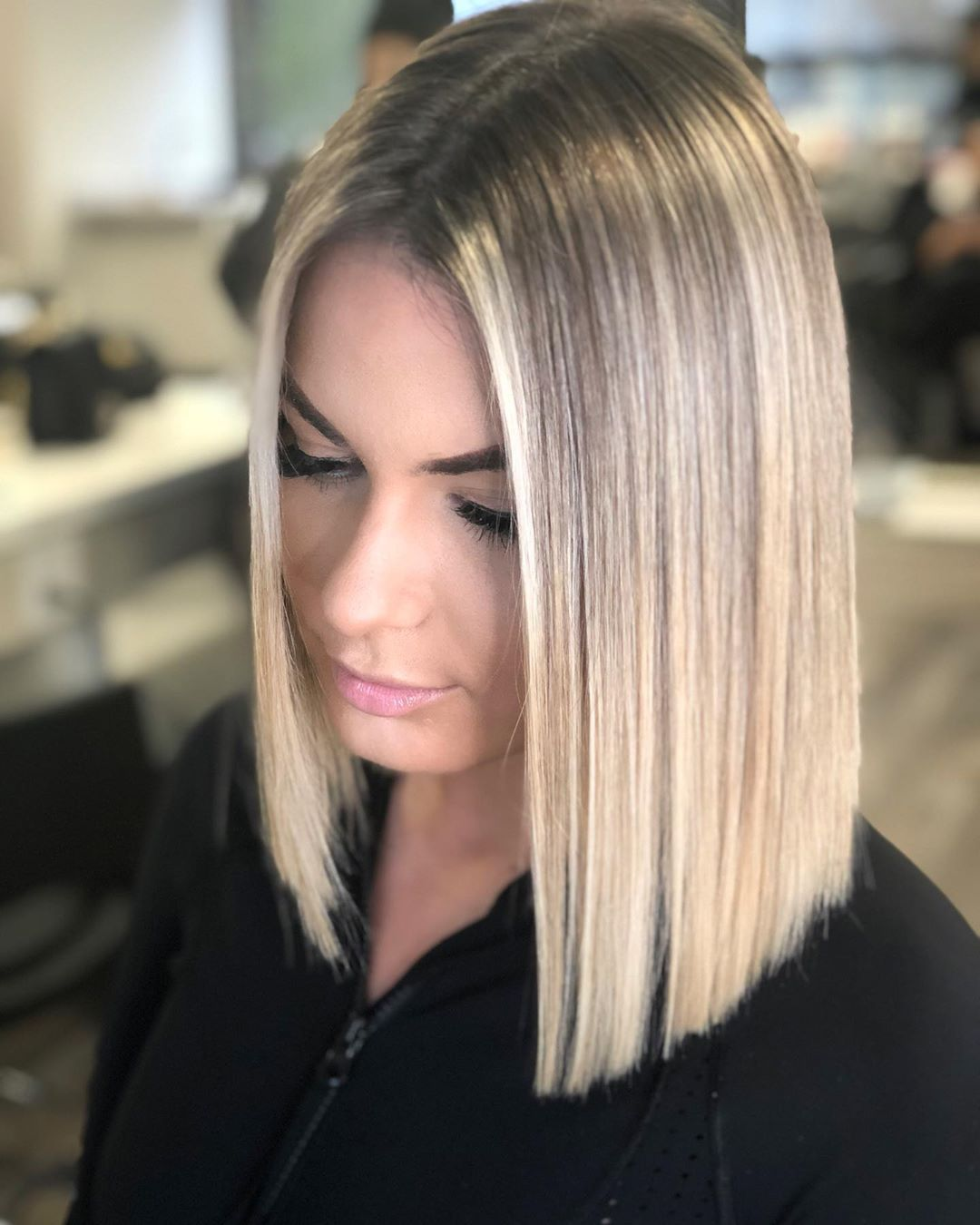 50 Blunt Cuts and Blunt Bobs That Are Dominating i