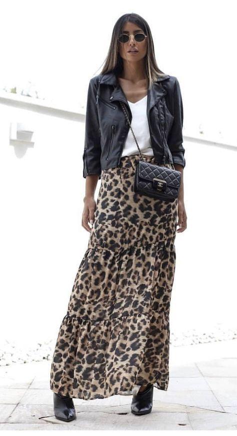 Conseils et idées de tenues avec ta jupe léopard