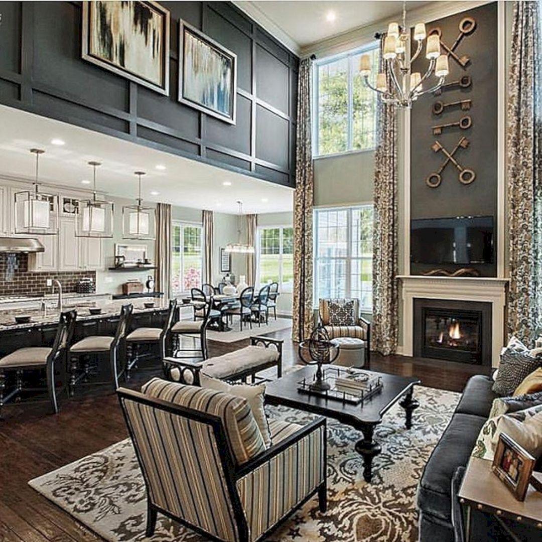 50 Beautiful Living Room Fireplace With Wood Ideas Freshouz Com