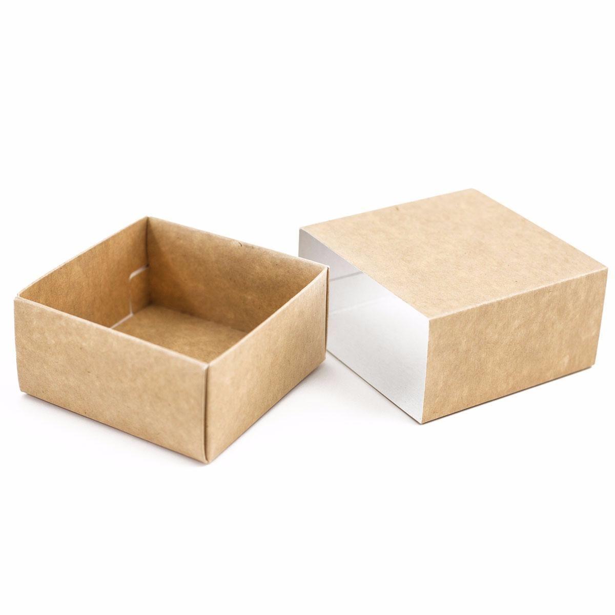 Caja De Cierre Deslizante En Kraft Cajas Cajas De Regalo Caja Kraft