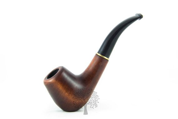 """Smoking Pipe 5.5"""" Tobacco Pipe/Pipes fits filter 9mm Classic Wooden pipe/pipes Wooden style"""