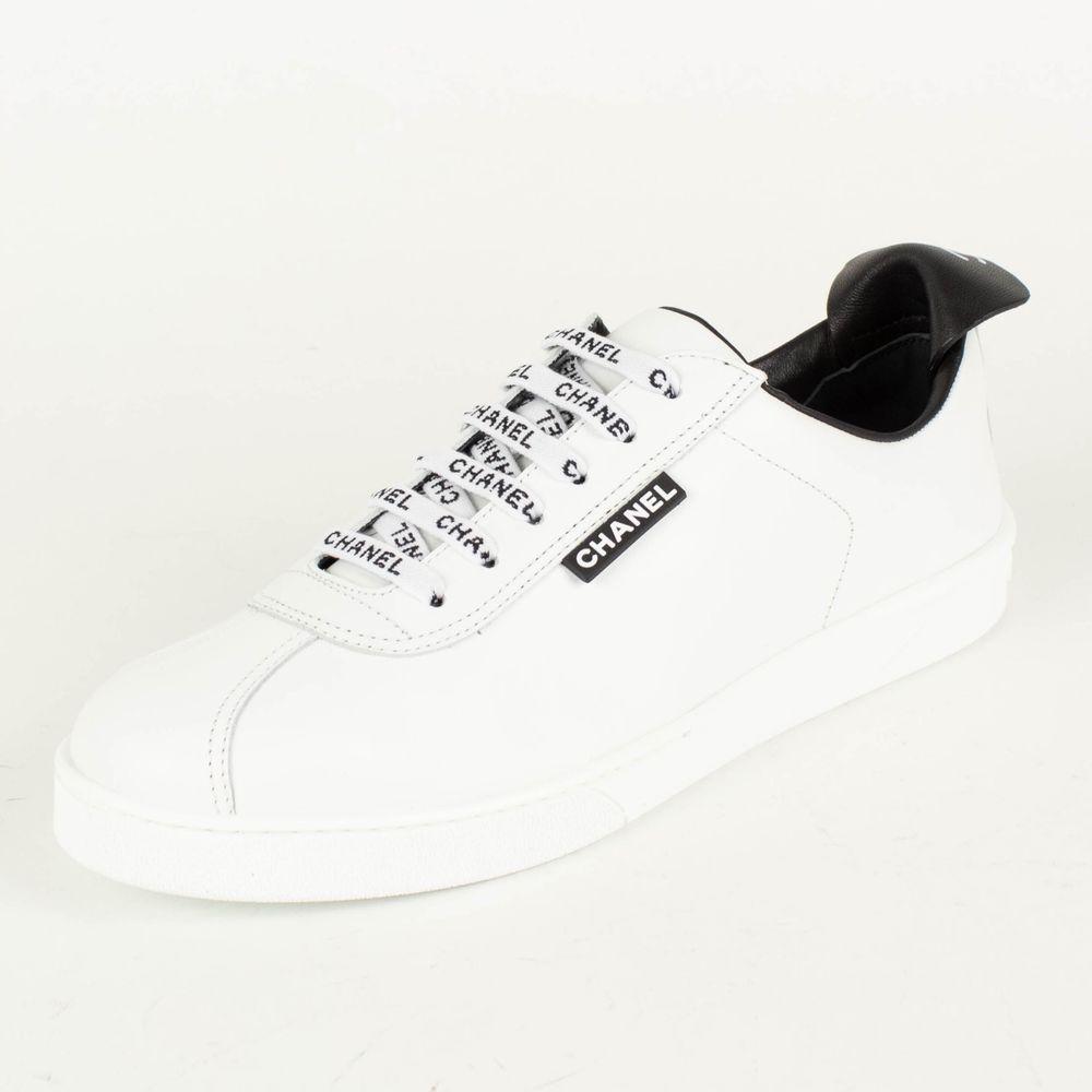 NIB CHANEL White Leather 'Weekender