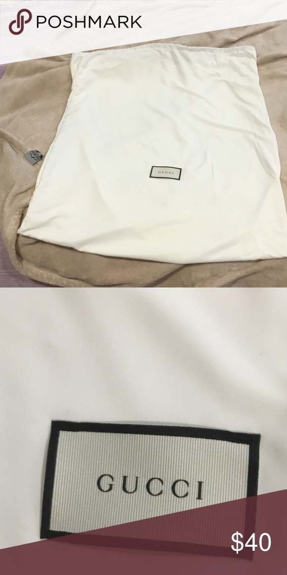 f6a076127 Sale‼ GUCCI dust bag & ribbon! New & Authentic. Sale‼️HUGE GUCCI ...