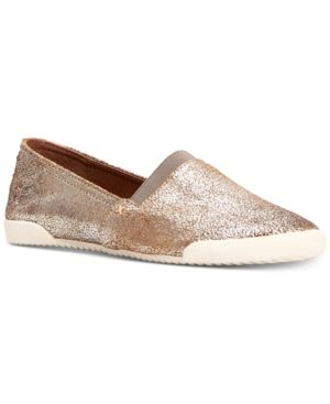 2240d2e0bb Frye Women s Melanie Slip-On Sneakers - Silver 6.5M