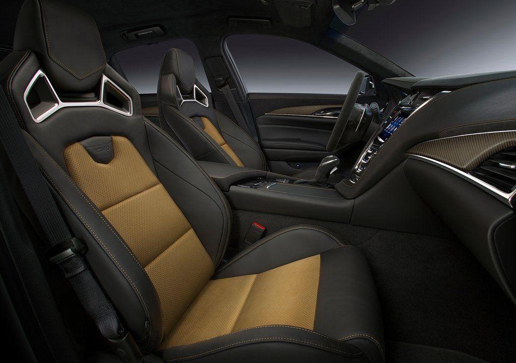 2017 Cadillac CTS V Interior, Leather Seats