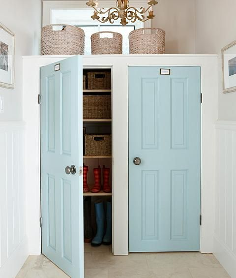Mudroom Doors - Sarah Richardson - love this! & Finishing Touches | Sarah Richardson Design: Add some wow factor to ...