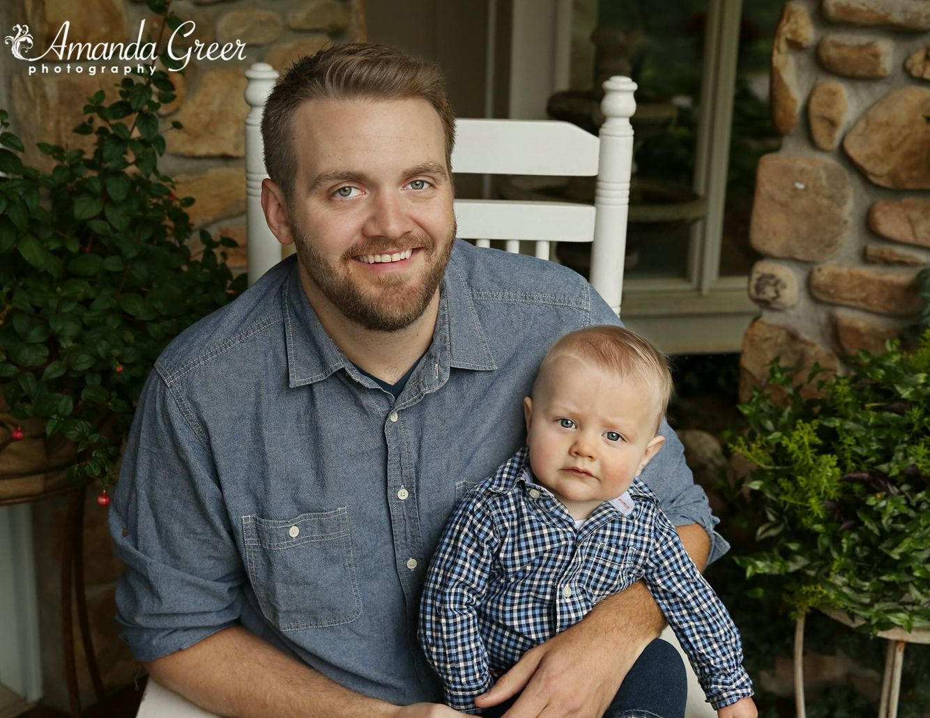 Daddy and Me  8 Month Session