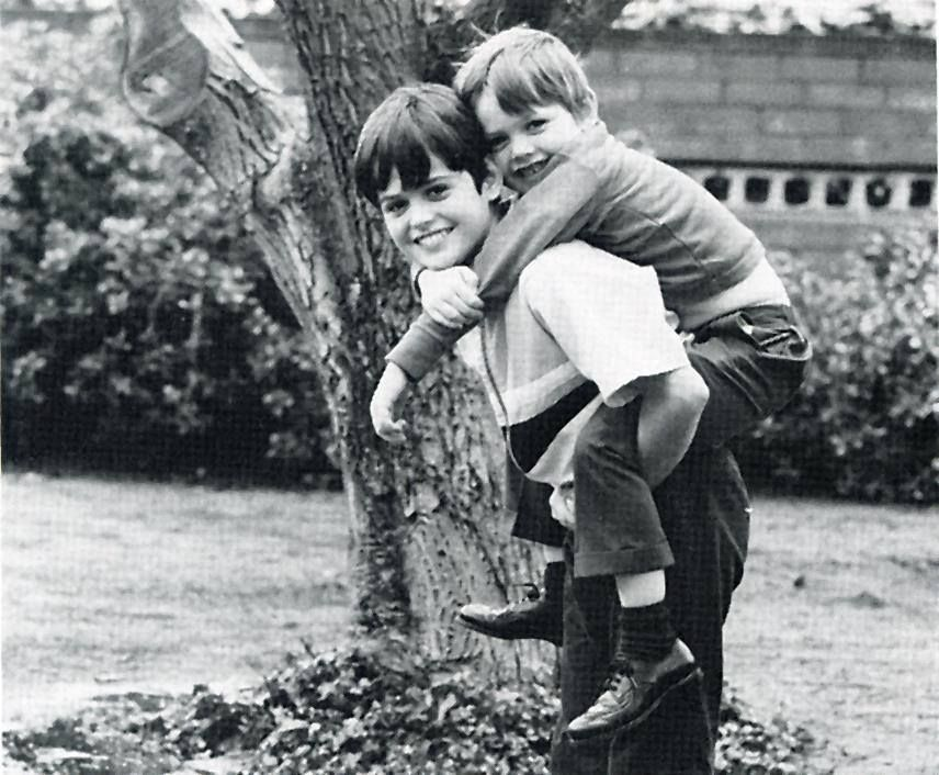 Donny and little brother Jimmy.