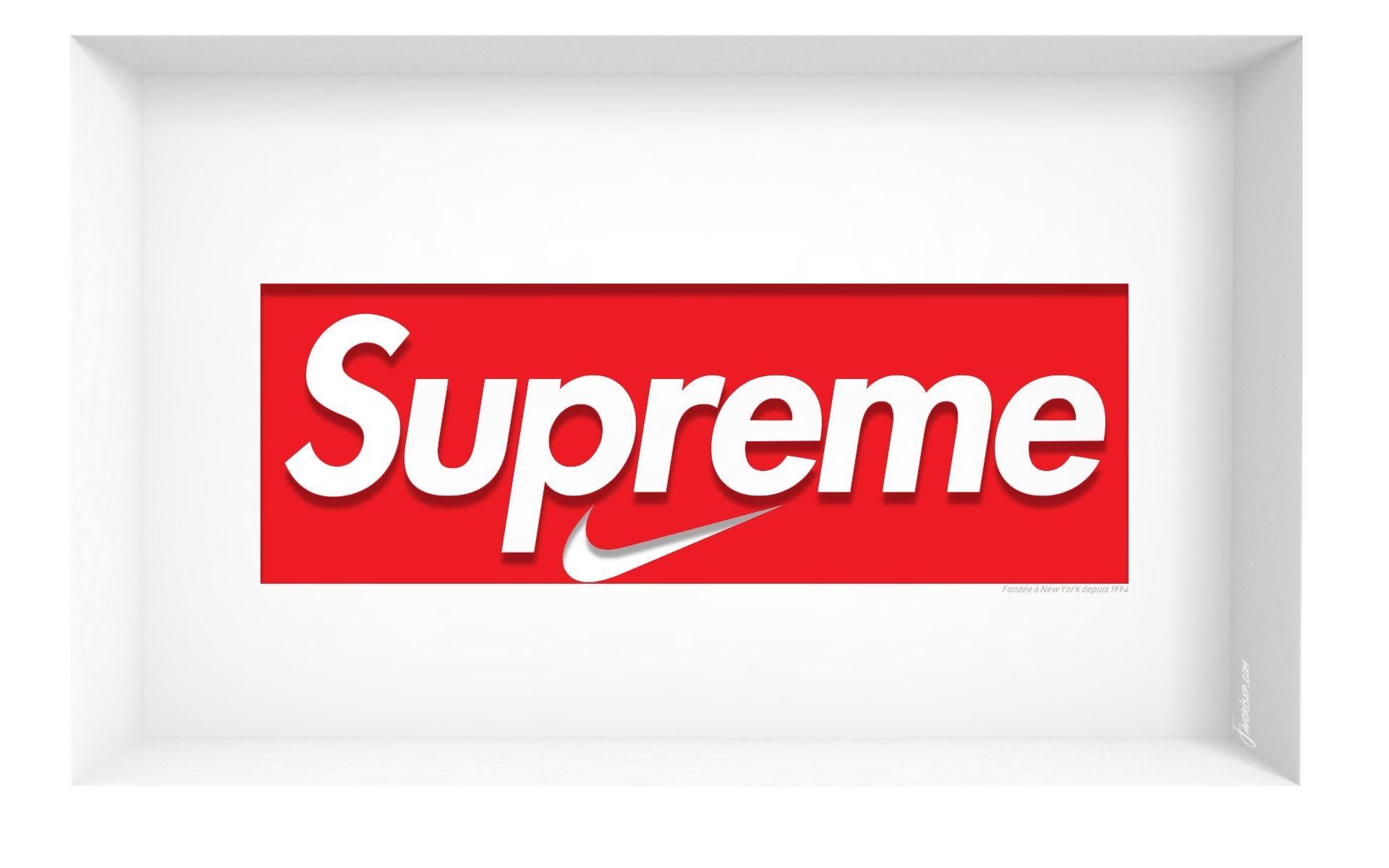 foto de Supreme x Nike fonds d'écran HD - arrière-plans gratuits. | Fond d ...