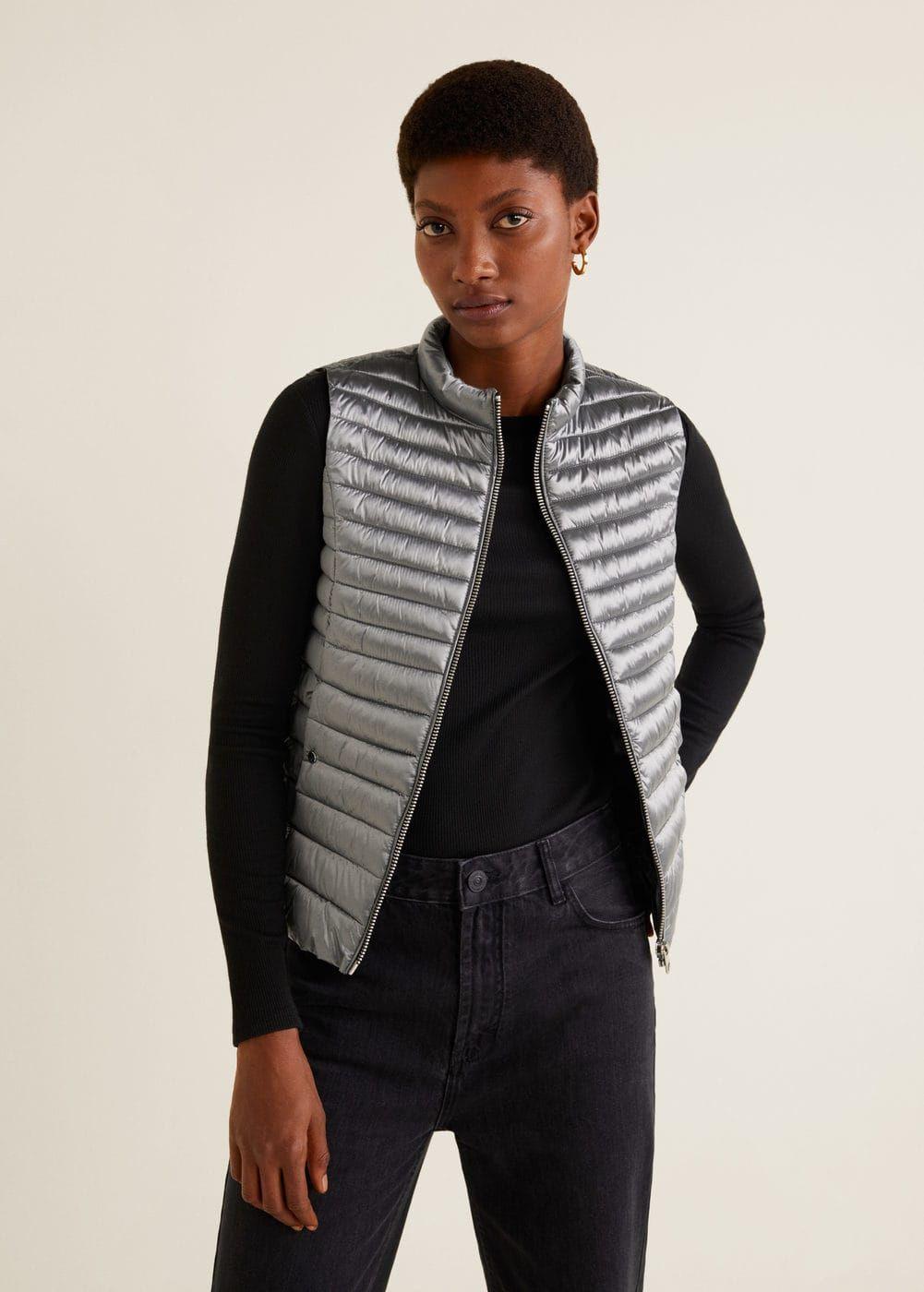 utloppsbutik rabatt trevligt billigt Vadderad väst - Damer | Mode, Mango och Väskor
