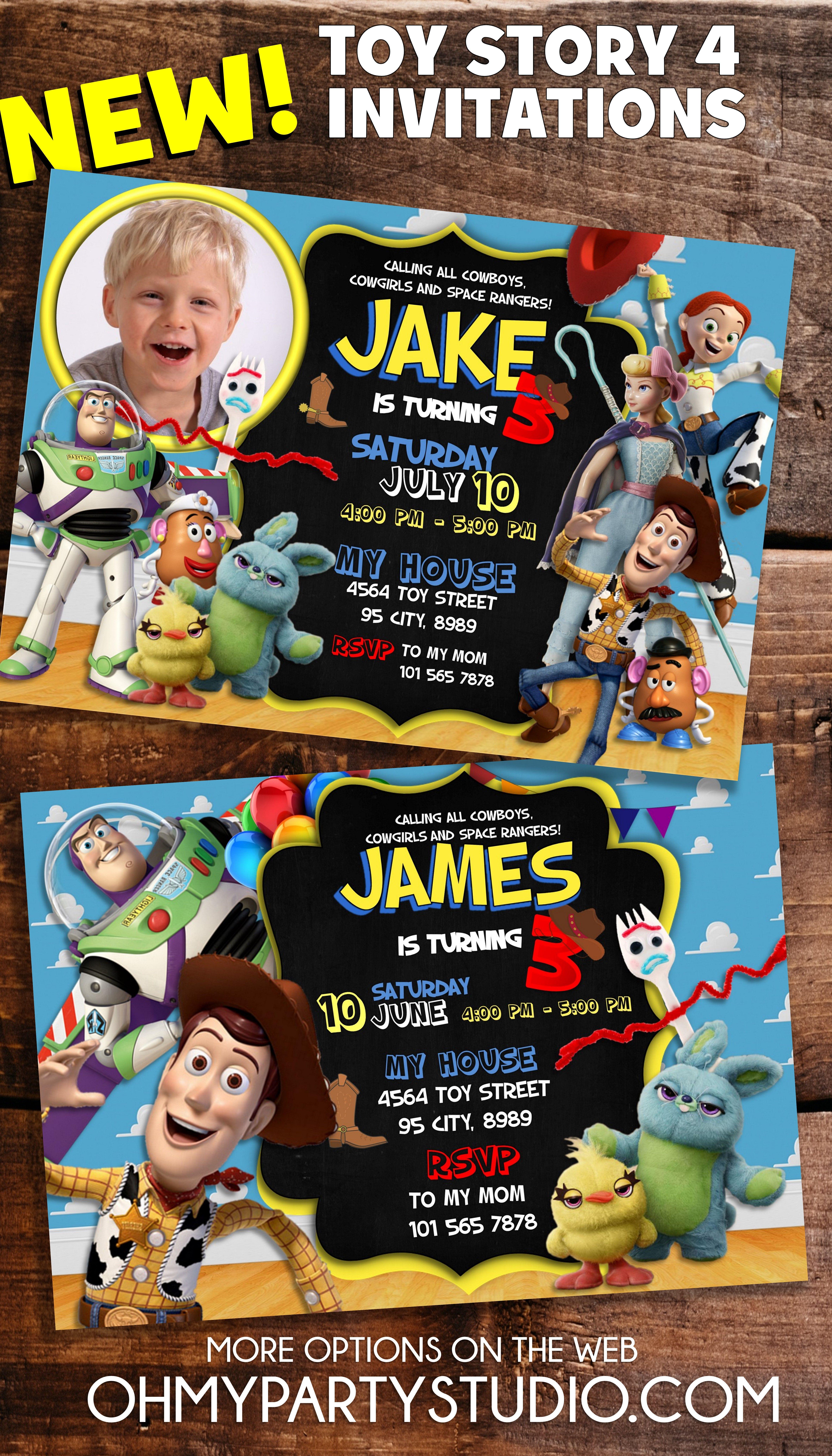 Toy Story Birthday Party Ideas Toy Story 4 Birthday Party