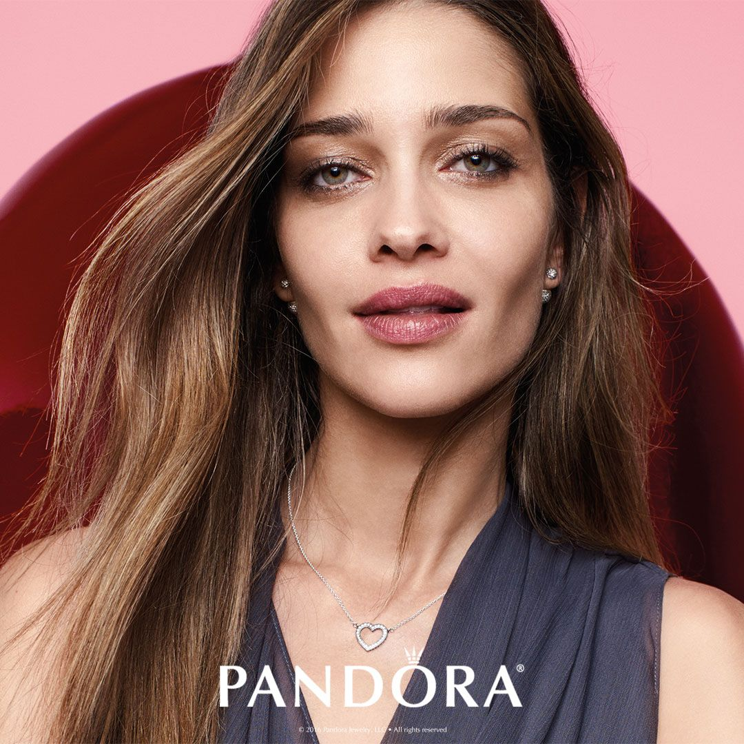 Give the hint this Valentine s Day with the Loving Hearts of PANDORA  necklace. A stunning 8e363a733cb