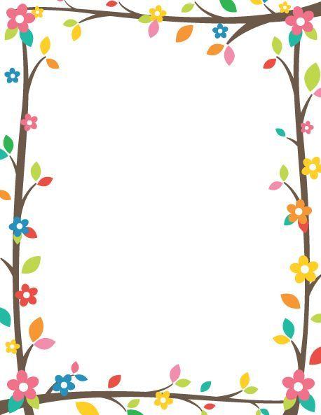 Borders and frames paper free frame border design boarder designs microsoft word printable also criancas podem ser utilizados para recados aos pais rh ar pinterest