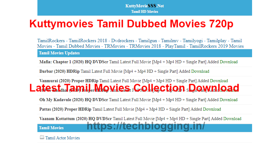 Kuttymovies Tamil Dubbed Movies 720p Latest Tamil Movies Collection Download In 2020 Tamil Movies Hd Movies Movies