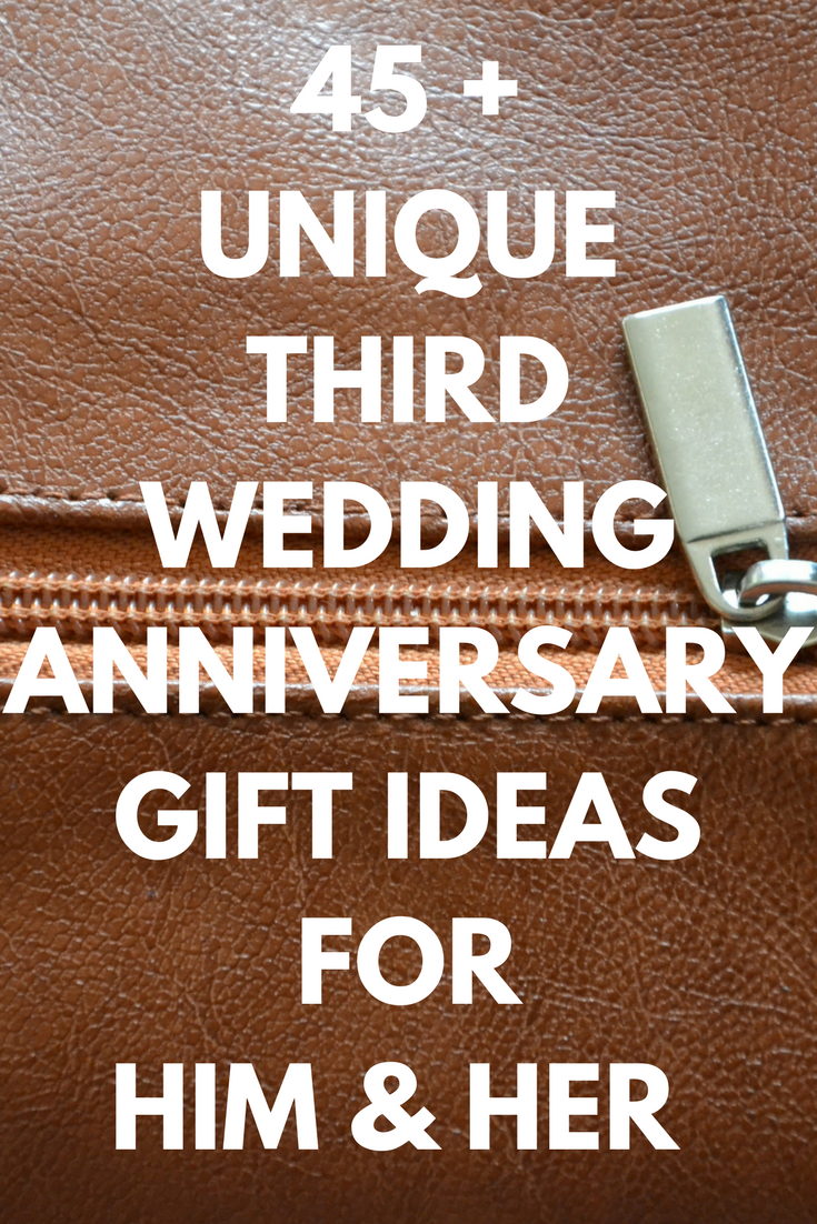 3rd anniversary gift ideas