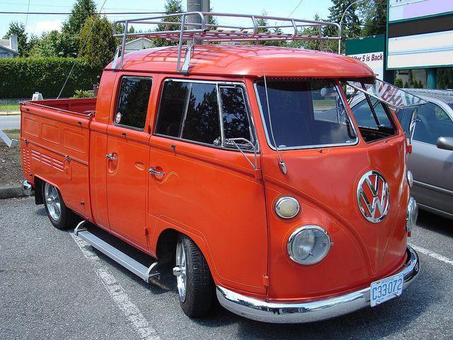 1966 Volkswagen Type 2 Double Cab Pickup Vw Bus Vintage Vw Bus Volkswagen