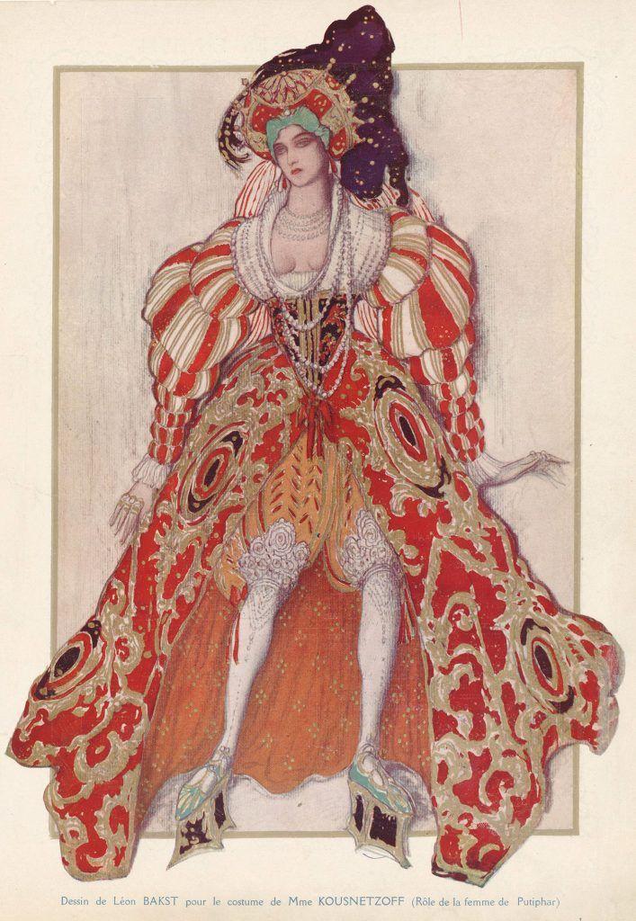Illustrations des Ballets russes DESSIN OU PEINTURE en