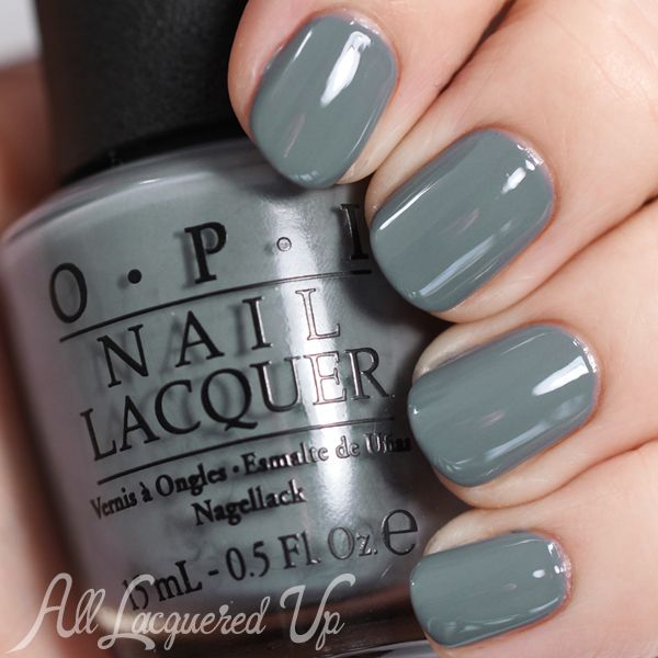 Opi Fifty Shades Of Grey Embrace The Gray Via Alllacqueredup