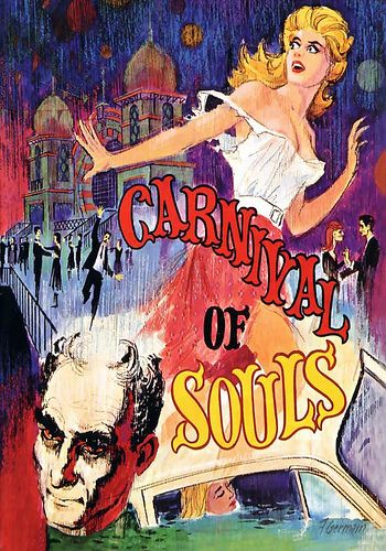 CARNIVAL OF SOULS Movie Poster 1962 Horror Mystery Classic