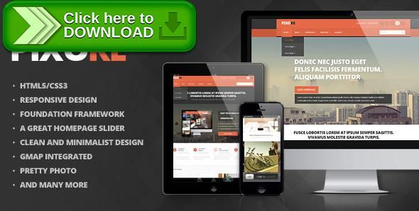 Free nulled Pixore - Responsive Multi-Purpose HTML5 Template download