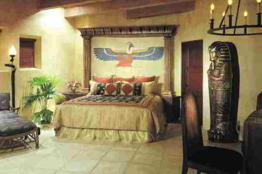 Awesome Home Design And Decor , Egyptian Interior Designs For Homes : Bedroom  Egyptianu2026