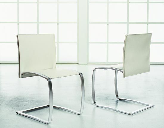 Modern Kitchen Chairs white leather kitchen chairs | winda 7 furniture