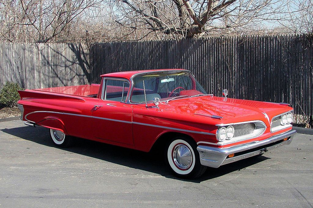 1959 Pontiac Catalina pickup | Pontiac, Classic cars trucks, Pontiac catalina